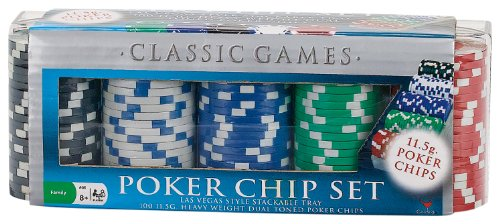 A Review of the 100 11-5g Lucky Crown Poker Chip Set